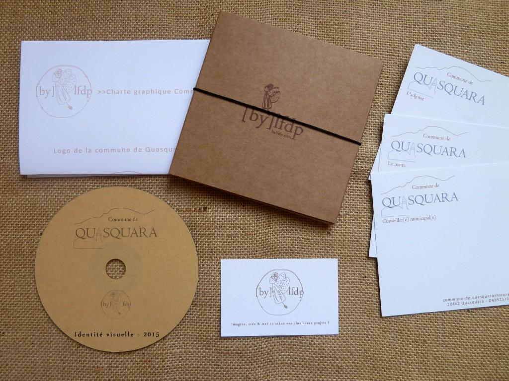 Identité visuelle CD Quasquara