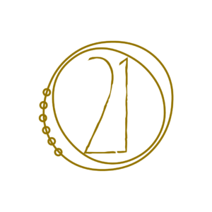 logo secondaire twentyone bijoux byLFDP