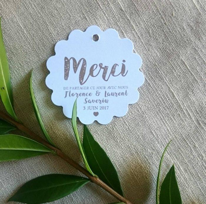 étiquette cadeaux d'invités - byLFDP
