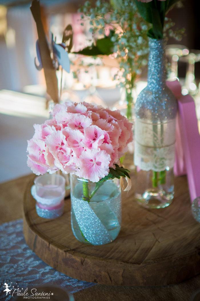 Décoration de tables - création byLFDP - mariage Corse