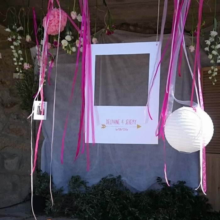 mariage en Corse - décoration papeterie byLFDP PHOTOBOOTH