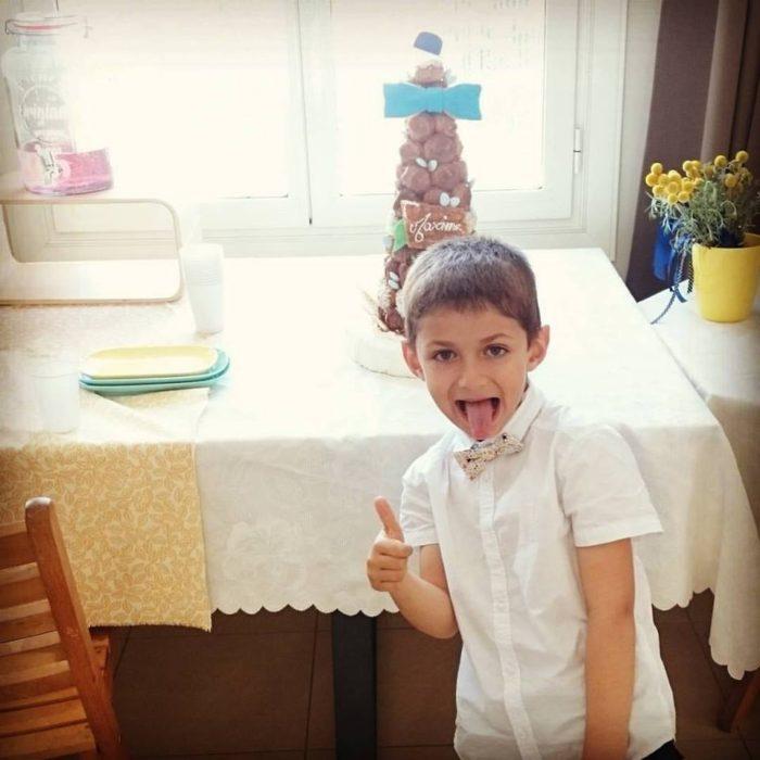cake topper baptême byLFDP