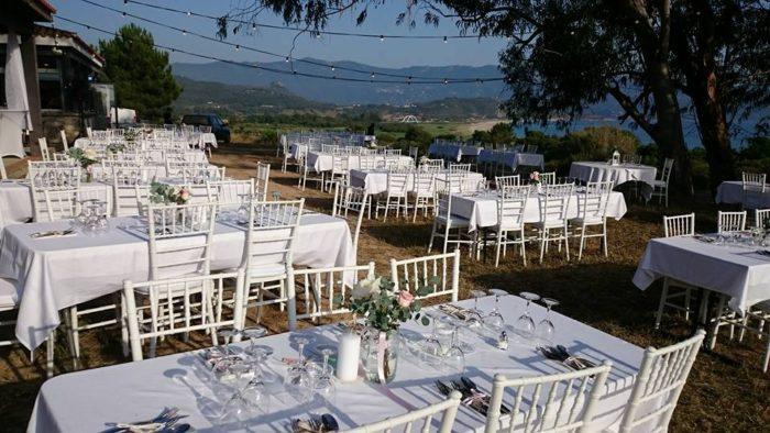 Decoration - mariage en Corse