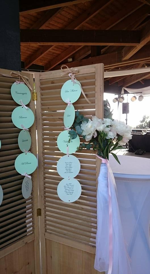 Plan de tables ronds - bylfdp - mariage Corse