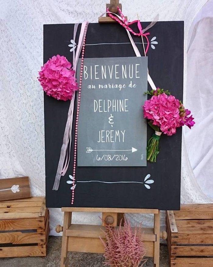 mariage Delphine et Jeremy en Corse - décoration papeterie byLFDP