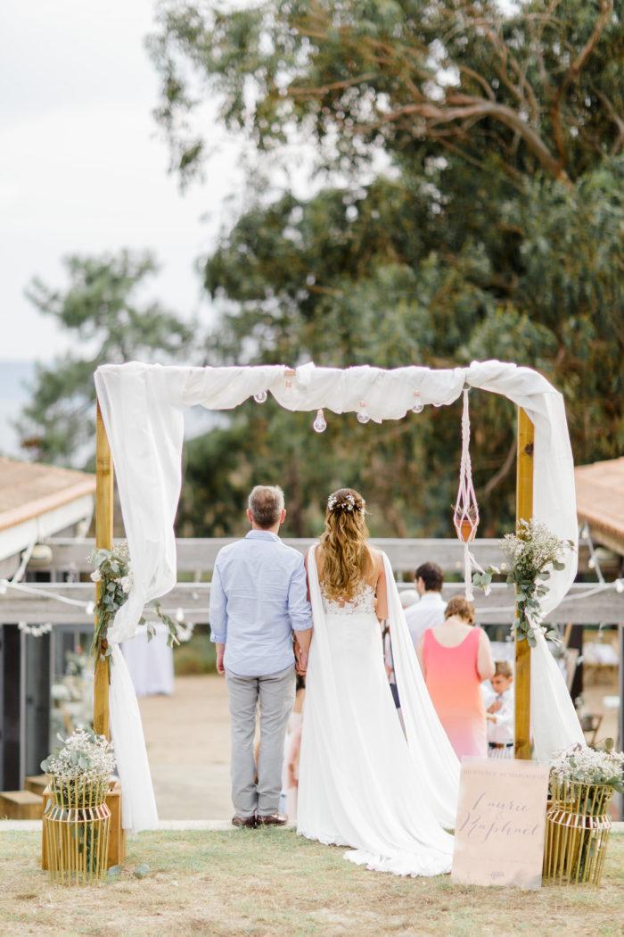 ARCHE MARIAGE LOCATION byLFDP- mariage en Corse