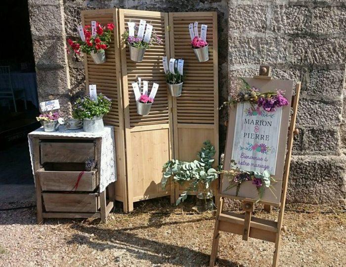 Plan de tables et décoration - accueil - bylfdp - Corse