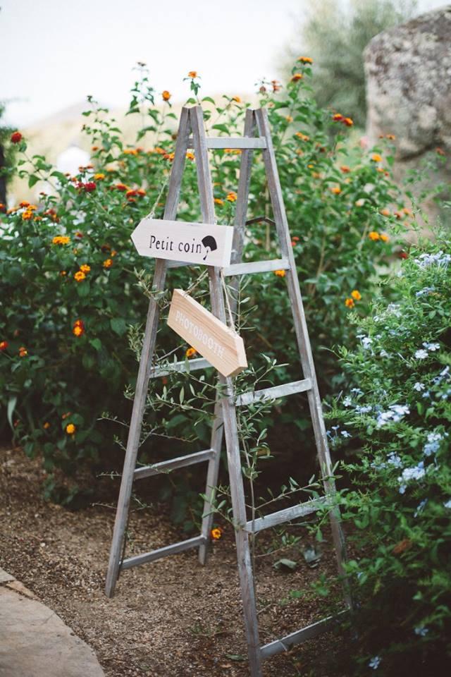 mariage en Corse - LOCATION ECHELLE- décoration byLFDP
