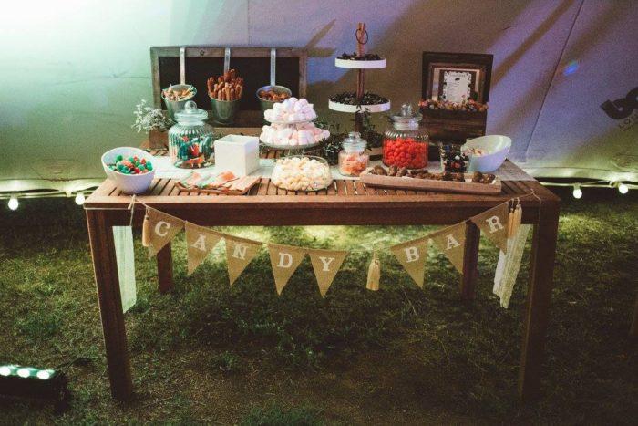 mariage en Corse - candybar - décoration byLFDP