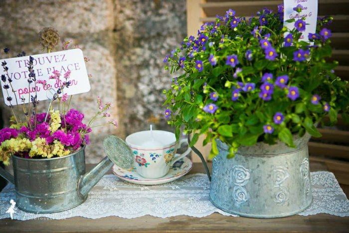 Décoration plan de tables - mariage Corse - bylfdp