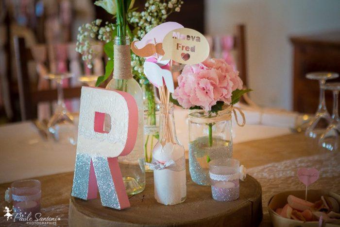 Centre de table - mariage Corse