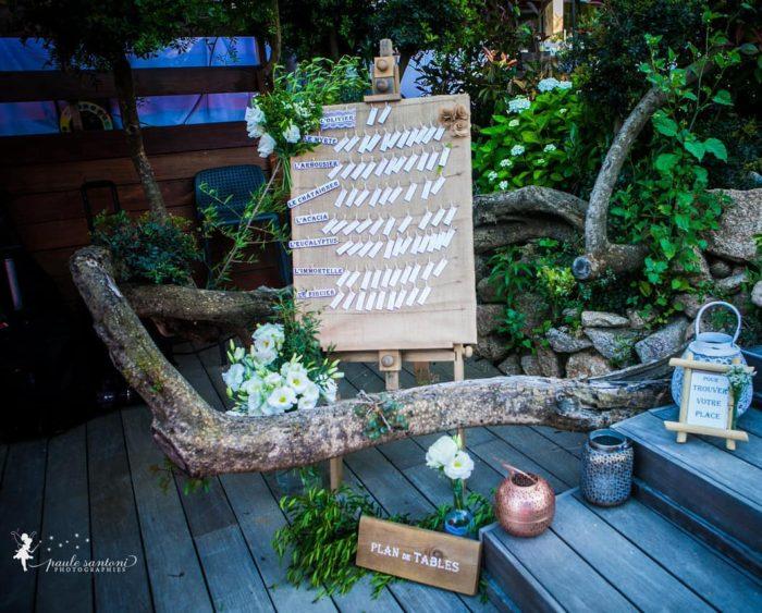 Plan de tables - création et location - bylfdp - mariage Corse