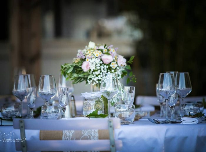 Décoartion tables mariage - bylfdp - mariage Corse