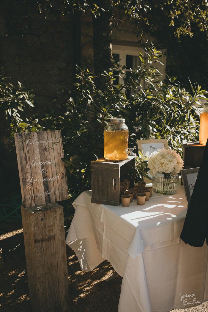 PANNEAU ACCUEIL mariage en Corse byLFDP