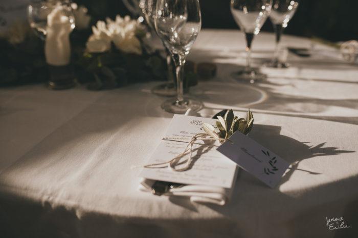 Anne & Arnaud DECORATION DE TABLES mariage en Corse byLFDP