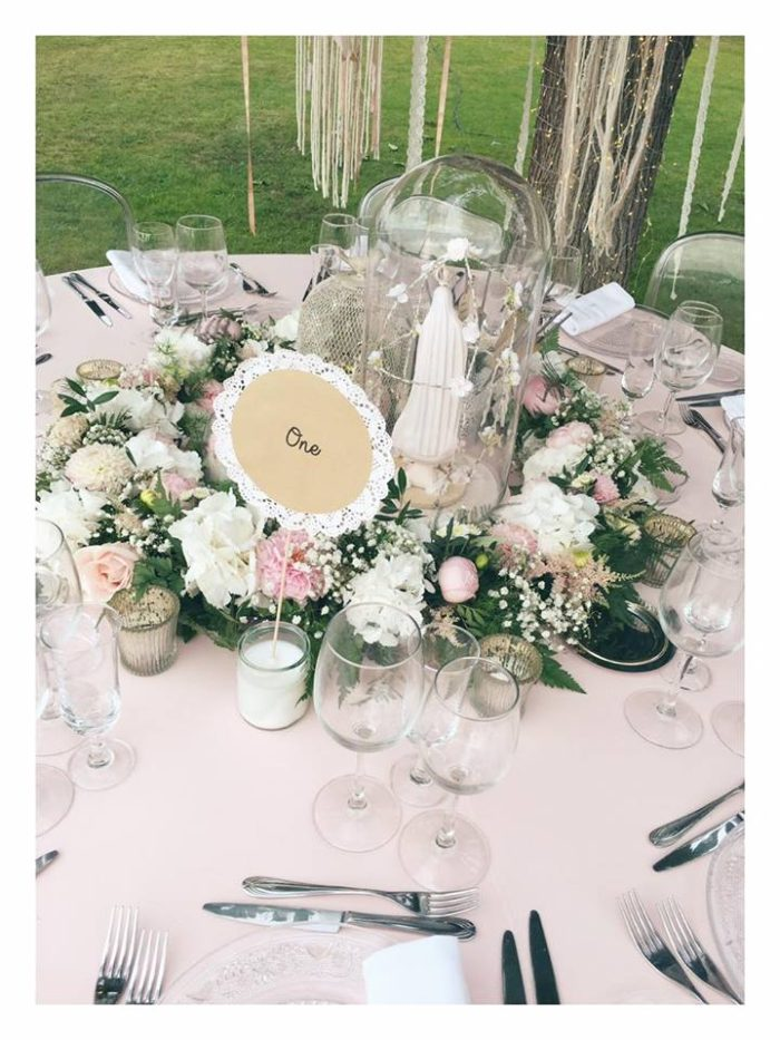 Alizée et Grégoire - mariage - nom de tables création byLFDP