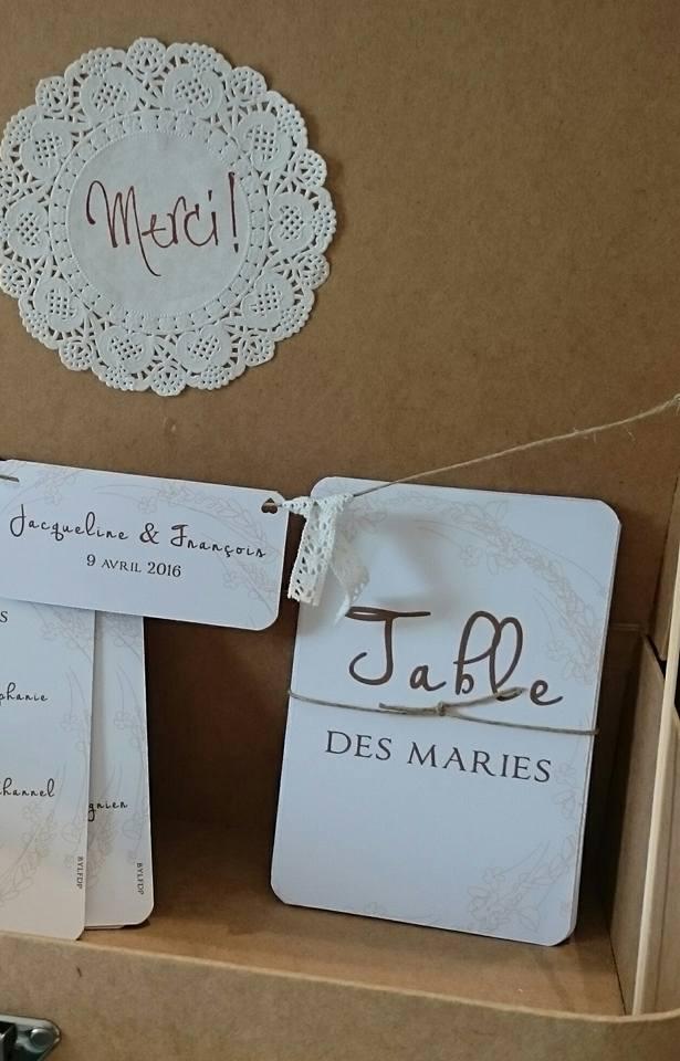 Plan de tables - mariage en Corse - byLFDP