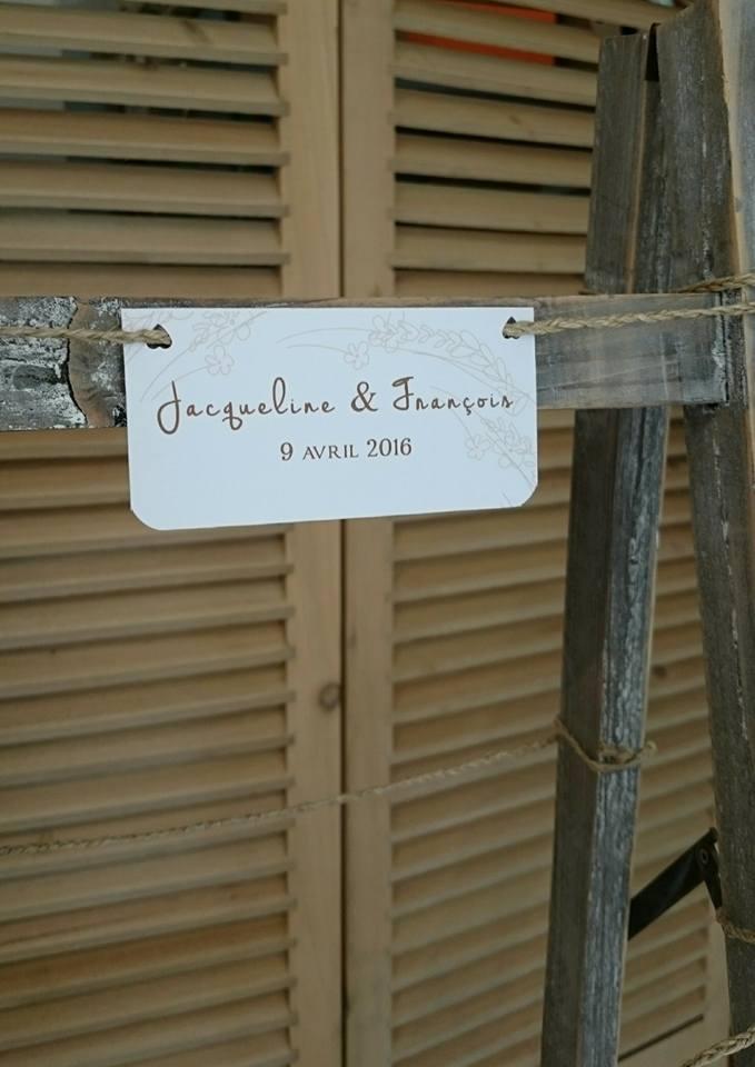 Jacqueline & François - mariage en Corse