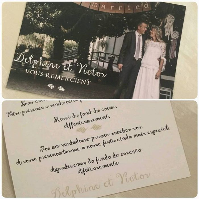mariage - remerciements byLFDP