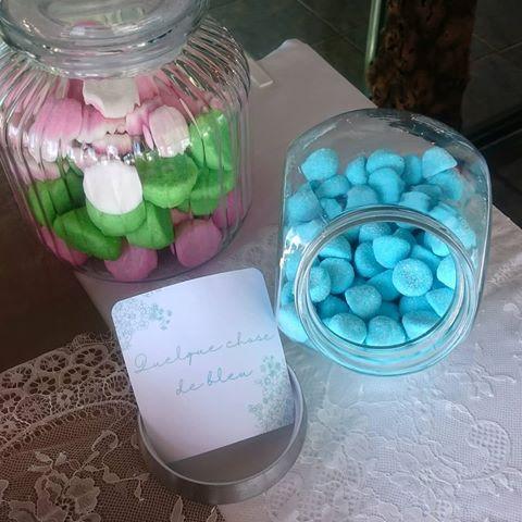 quelque chose de bleu ! mariage décoration