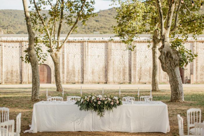 mariage Corse - aux colonnes fleuries