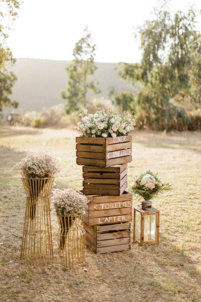 Décoration - Location mariage CORSE