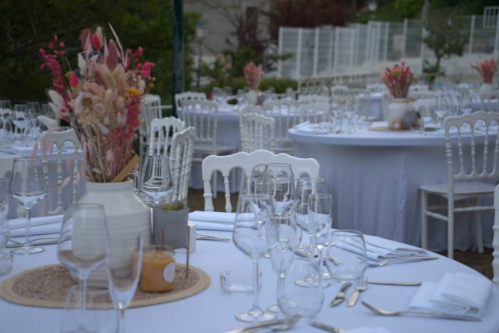 Décoration mariage Corse - byLFDP