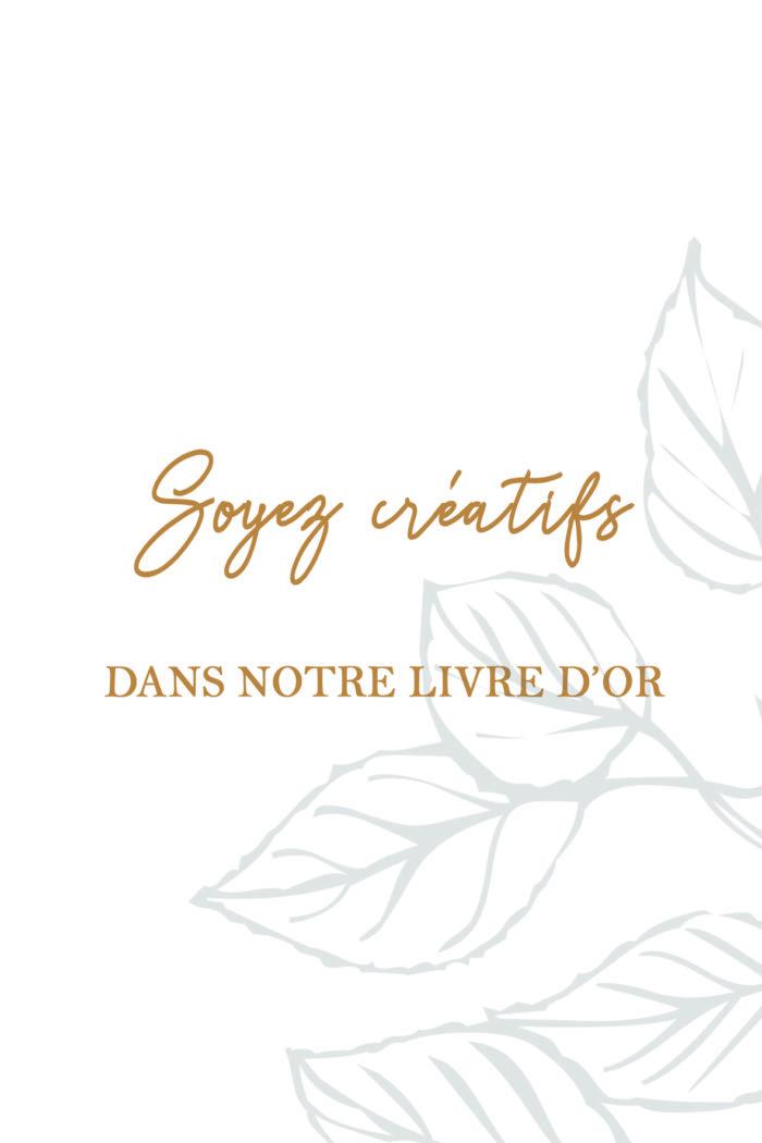 Création papeterie de mariage byLFDP