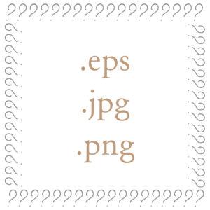 formats graphiques logo