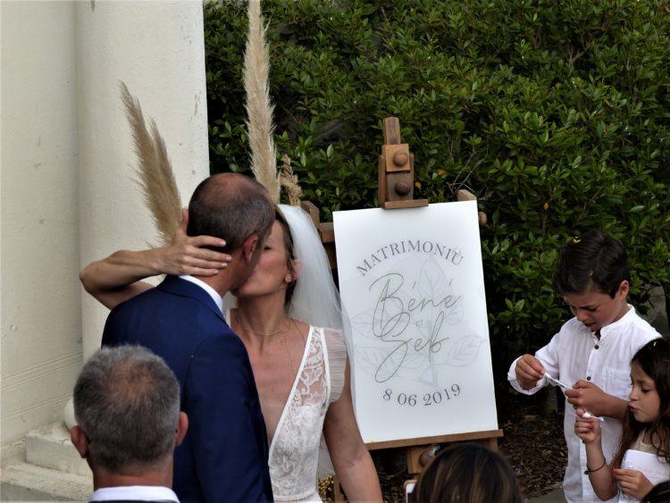 photos de nos mariages en Corse